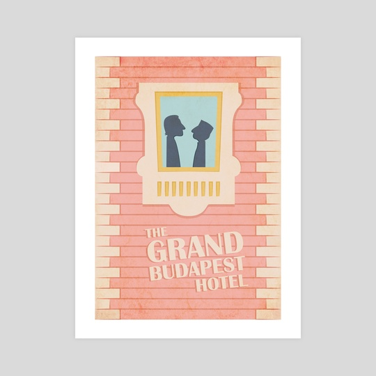The Grand Budapest Hotel by Elena Yaremchuk
