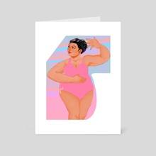 Ballerina - Art Card by Justine Marc Balde