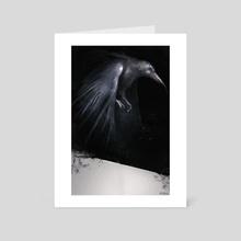 Corvus - Art Card by Josip SilvOkami