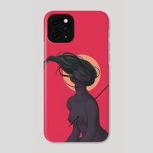 Strike - Phone Case by Andrea de Castro