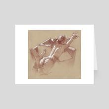 Repose - Art Card by james martin