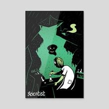 Shades : Scientist - Acrylic by Grudé Emilien
