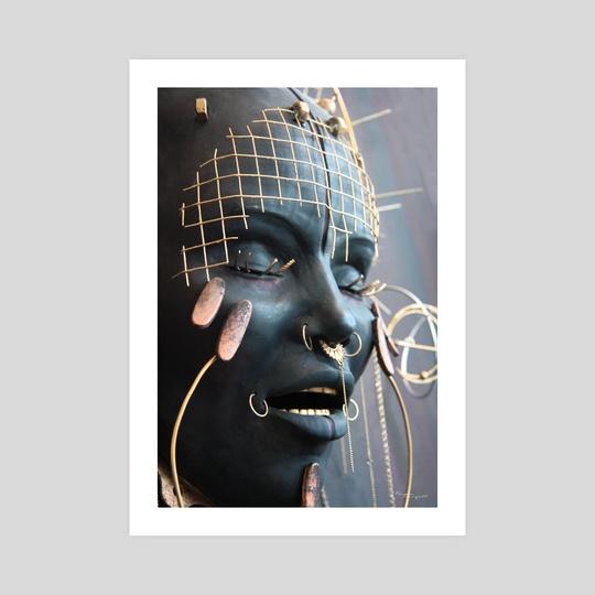 """Shambhalla 2"" - Sculpture Detail by Pamela Ranya"