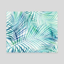 Tropical Palm Print - Canvas by Modern Tropical