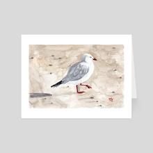Stephen-C-Gull - Art Card by punka cat