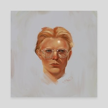 David Bowie - Canvas by Diana Pinto