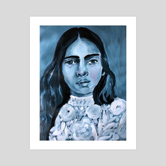 Blue  by Misty  Mawn