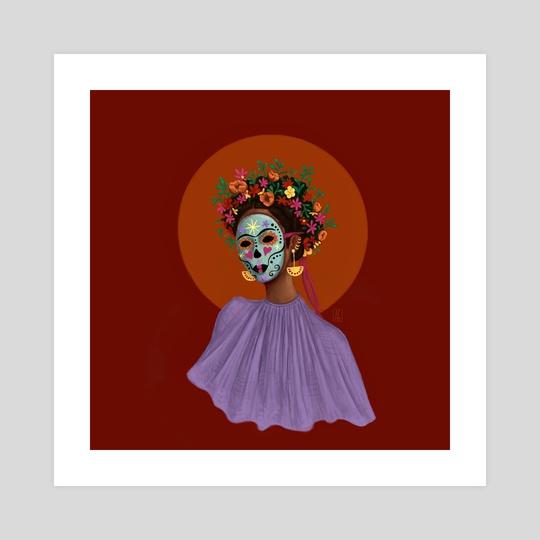 Mask by Angelica Gutierrez