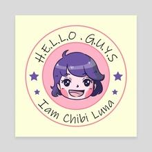I am Chibi Luna - Canvas by Y Phien Tra