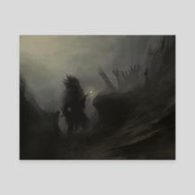 Druid - Canvas by Alexey  Ivanov
