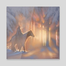 Light Upon Your Path - Acrylic by Arthur Herring