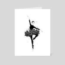 Floral dance - Art Card by Balazs Solti