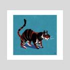 Jungle Cat - Art Print by Melissa  van der Paardt
