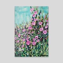 Garden 2 - Acrylic by Maddalena Sodo