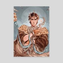 Tarot Card : Jotaro Kujo - Jojo's Bizarre Adventure - Canvas by Katya