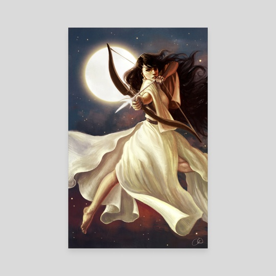 Goddess of the Moon by Christy Tortland