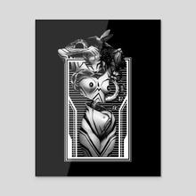 MELANCHOLIC  - Acrylic by Magiklight