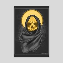 Ghostly nomad - Canvas by Alexander Likintsan