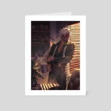 Ace Attorney - Godot - Art Card by Mr. Kasuy