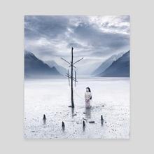 Distant Shore - Canvas by Daria Endresen