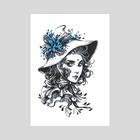 Mandrake Witch - Art Print by Maria Dimova