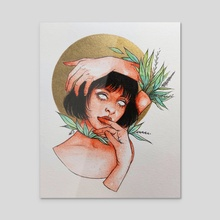 Citrus - Acrylic by Ghadir Ibrahim
