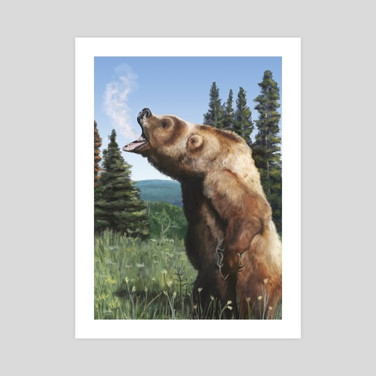 Smokey Bear by Schmaise (S)