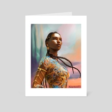 Princess of Eyllwe - Art Card by BloodyDamnit