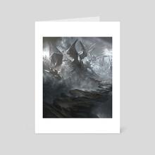 Godless Shrine - Art Card by Noah Bradley