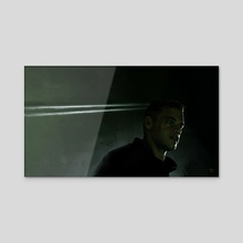 Elliot Alderson - Acrylic by Sean Cumiskey