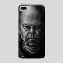 Neil Young - Phone Case by Andre Koekemoer