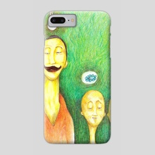father and sons - Phone Case by charles djalu