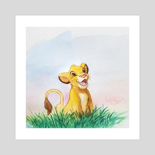 Simba by EmilyMeganXArt