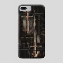 Square #2 - Phone Case by Ousama Abou-Samra