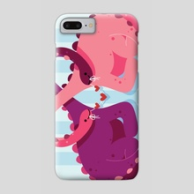 Tangled With You - Phone Case by Chellzasaur