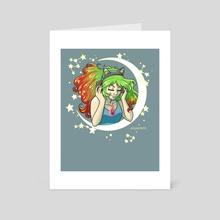 Celestial Playlist - Art Card by Maegan Cook