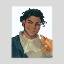 Claude Painting - Canvas by Charlotte