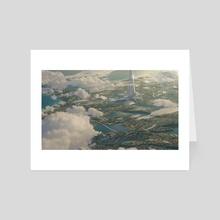 Bright Future - Art Card by James Combridge