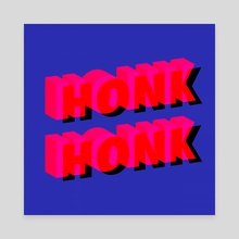 HONK HONK - Canvas by Deli Bobs