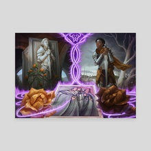 Fates' Reversal   Magic: the Gathering   Adventures in the Forgotten Realms - Canvas by Alix Branwyn