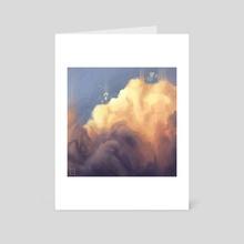 """Sunset Upon Clouds"" - Art Card by David Joseph"
