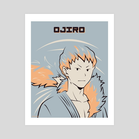 Ojiro Poster by Kazi Sakib