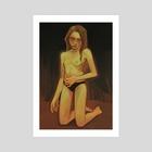 Wound - Art Print by Rosalie Mattair