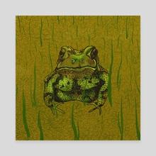 Toad - Canvas by lorange.peel