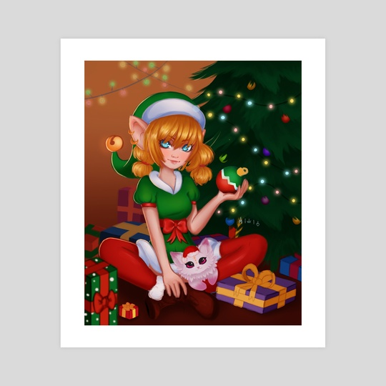 Christmas Elf by Miwi .