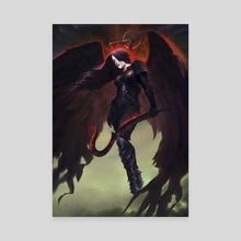 Vishera, Holy Avenger - Canvas by Bryan Fogaça Rosado