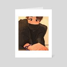 hoba made a bracelet! - Art Card by lils .