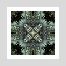 PlitviceLakeStudy #16 - Acrylic by Naima White