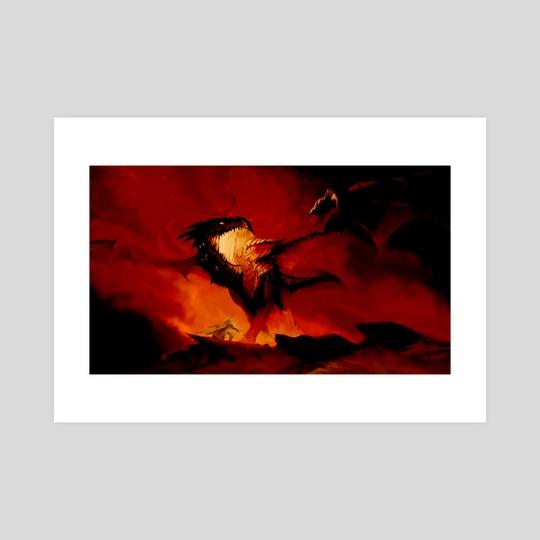 """""""Wyrm Killer"""" by Dustin Foran"""