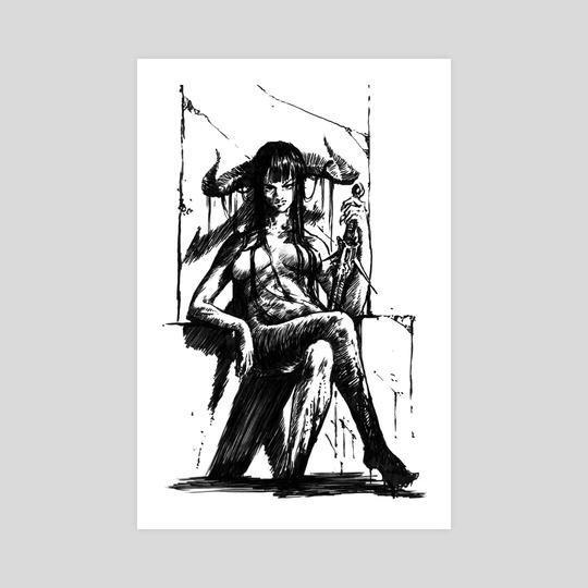 Evil Lady by Daniel Eichinger